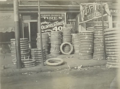 Girard Rubber Co. Store Front (c. 1918)