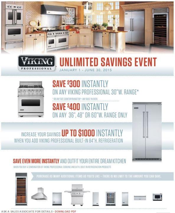 Viking Unlimited Saving Event