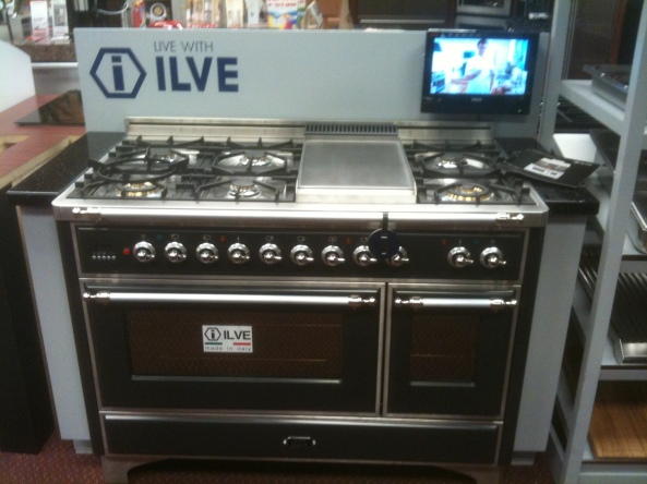 Ilve Graphite Matte Black at Kieffer's Appliances