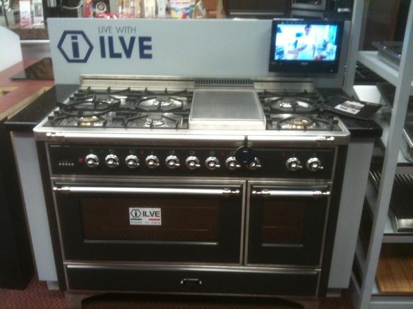 Ilve Graphite Matte Black at Kieffer's Appliances