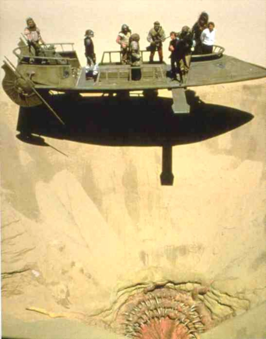 The Sarlacc offers slightly less capacity than a 29 Cubic Foot Refrigerator from GE.