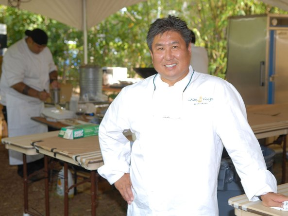 Photo of Chef Alan Wong