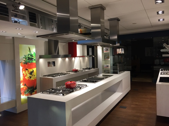 Miele Cooktop Display